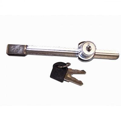 URS Reptile Sliding Glass Metal Door Lock With Keys