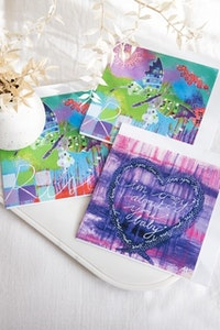 Diilhami Art Butterfly Love 3 card pack