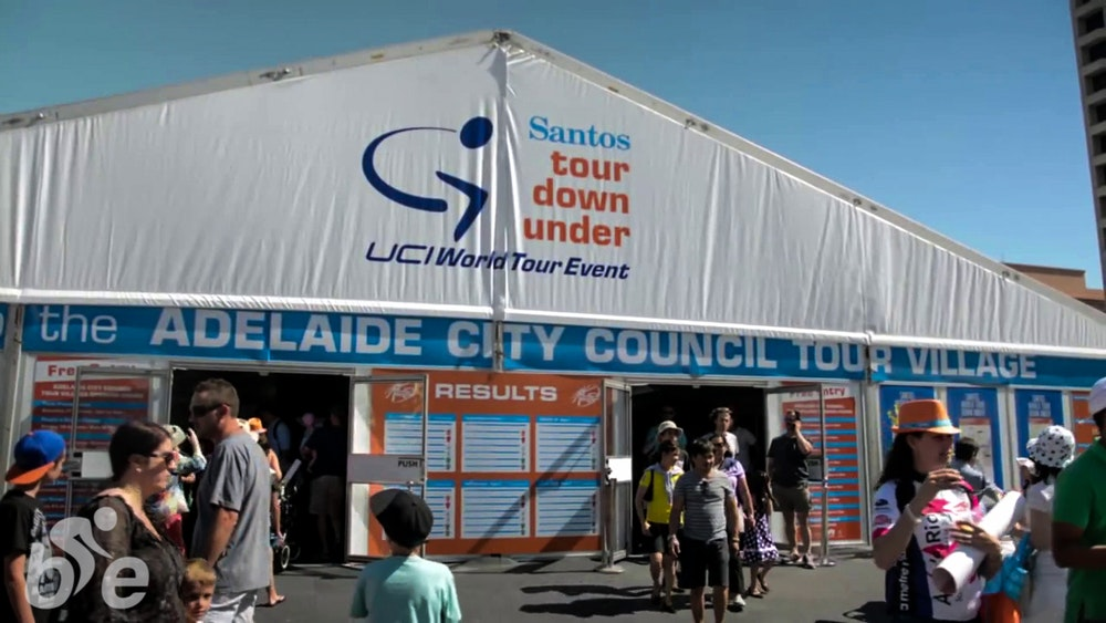 tour down under 2015 tour village