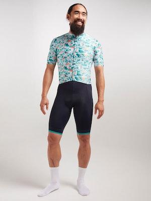 Black Sheep Cycling Men's Essentials TEAM Jersey - Sakura Green