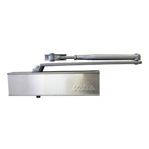 Kaba Dorma 9024 Series Surface Mounted Standard Arm EN2-4 Door Closer Finished in Silver