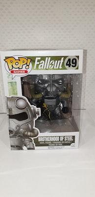 Brotherhood of steel pop vinyl from fallout