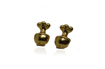 Continente Dorado Precolombian Earrings Gold