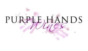 Purple hands Logo