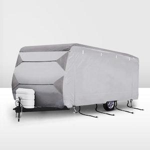 SAN HIMA 16-18ft Caravan Cover 4 Layers