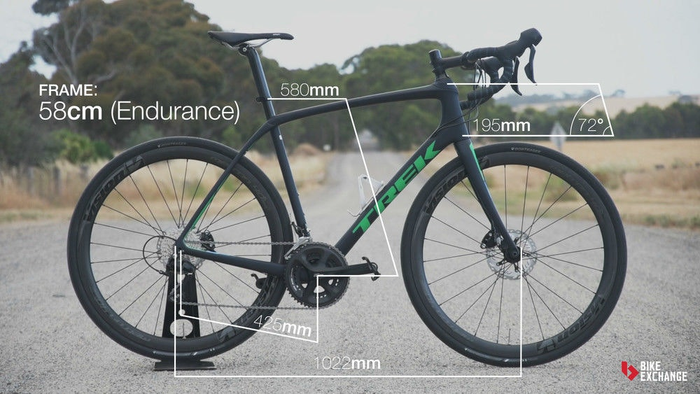 fullpage trek domane sl 5 disc 2017 review endurance geometry