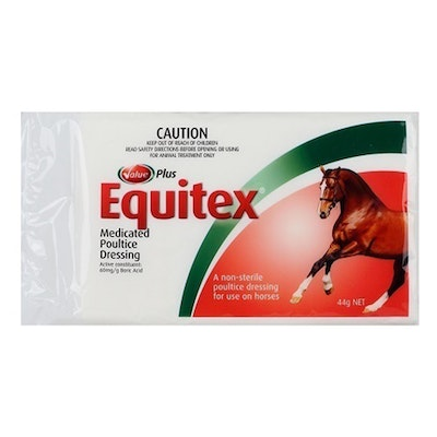 Value Plus Equitex Medicated Poultice Dressing Inner 44g