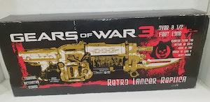 Gears of War 3 gold Retro Lancer replica
