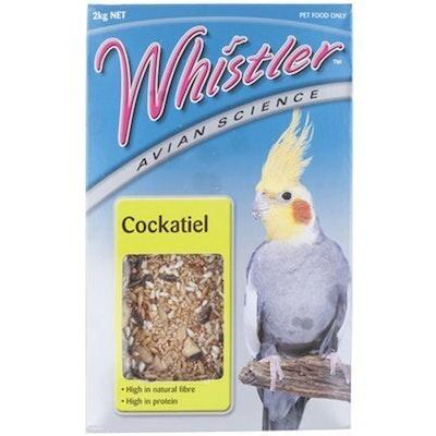 Lovitts Whistler Avian Science Cockatiel Bird Food Mix 2kg