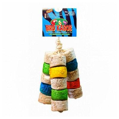Wesco Pet Bird Kabob Chiquito Shreddable Bird Toy 28cm