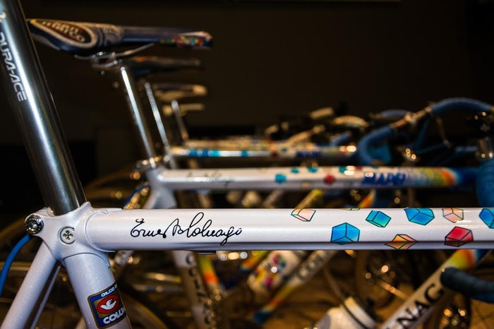 Fabio s Colnago Mapei Collection Ernesto signature