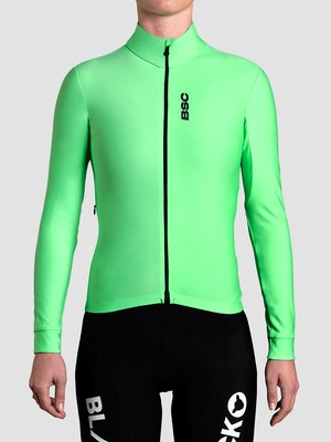 Black Sheep Cycling Women's Elements LS Thermal Jersey - Green