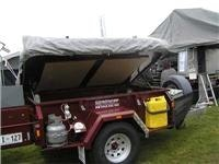 This Challenge Camper Trailer off-road deluxe  package sold on the spot