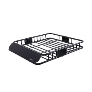 Giantz Universal Roof Rack Basket Car Luggage Carrier Steel Vehicle 112 cm