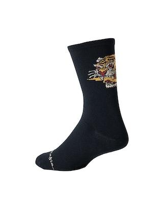 Pedal Mafia Artist Series Sock - Fast Times Black