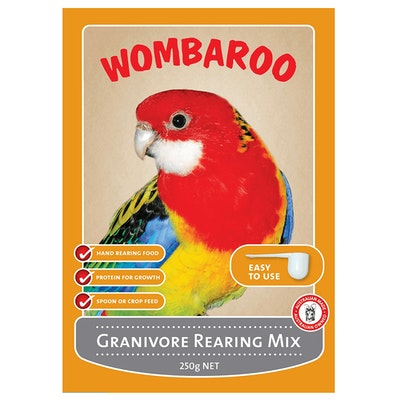 Wombaroo Granivore Rearing Mix Bird Food Powder - 3 Sizes