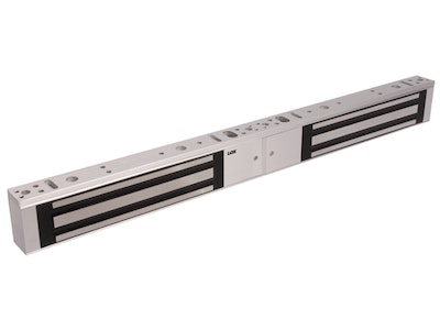 """Lox Locking LOX EM3500D slimline 280kg double door electromechanical magnetic mag lock """"Non-Monitored"""" SCP"""