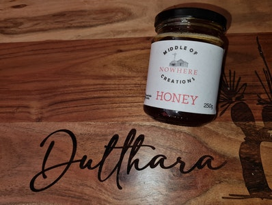 Middle Of Nowhere Creations Honey 250g