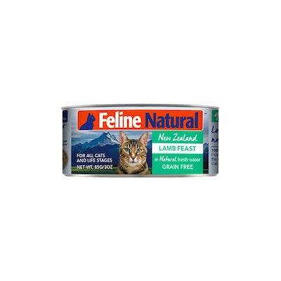 FELINE NATURAL Canned Lamb Feast 85G