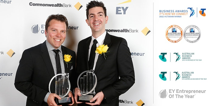 BikeExchange Awards Ernst   Young Telstra. Credit Lucas Dawson