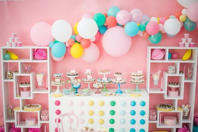 SWEET AS CANDY BUFFET BAR