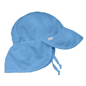 green sprouts Flap Sun Protection Hat-Light Blue