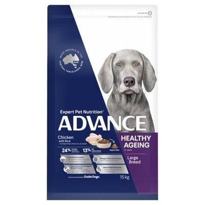 Advance Dry Dog Food Healthy Age Large Breed Chicken 15kg