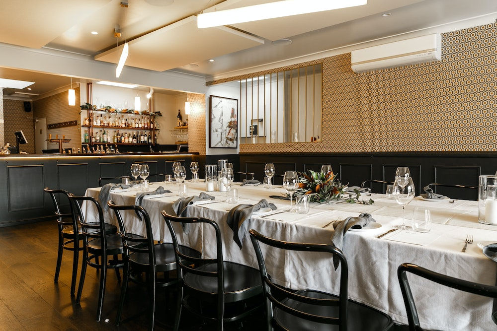 Neptune Food & Wine's private dining