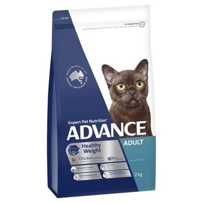 Advance Dry Cat Food Adult Light 2kg