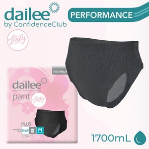 Dailee Pants Lady Plus Black - MEDIUM (80 - 120cm)