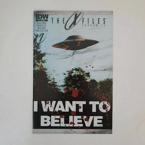 The X-files: Season 10 #1 (Vol. 1) 2013 - Joe Corroney Variant - Rare