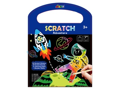 Avenir - Scratch Book - Adventure