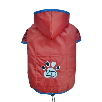 DoggyDolly SMALL DOG - Dry Dog Hoody Red