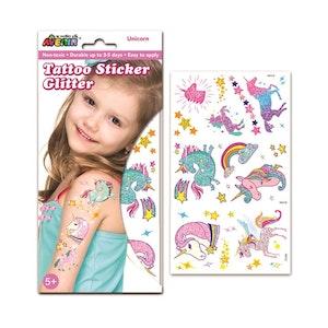 Avenir - Glitter Tattoo - Unicorn
