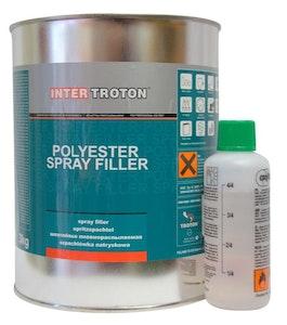 Troton Polyester Spray Filler 3kg Kit