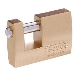 ABUS Padlock Monoblock 82/63 -60mm Ideal Shipping Container Padlock