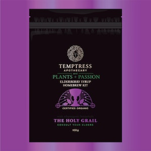Temptress Apothecary The Holy Grail – Elderberry Diy Home Brew With Adaptogenic Botanicals