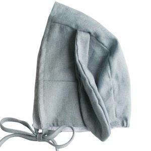 Alimrose - Bobby Bunny Bonnet - Grey Linen