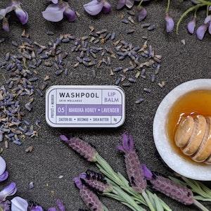 Manuka Honey · Lavender Lip Balm Tin [LX5]