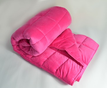Weighted Single Bed Blanket - Fushia 3kg