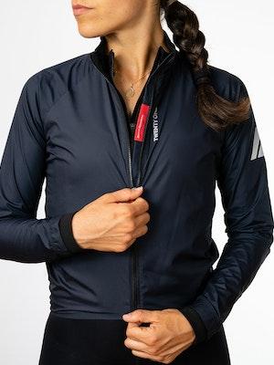 Twenty One Cycling Factory Wind Jacket - Navy - Women