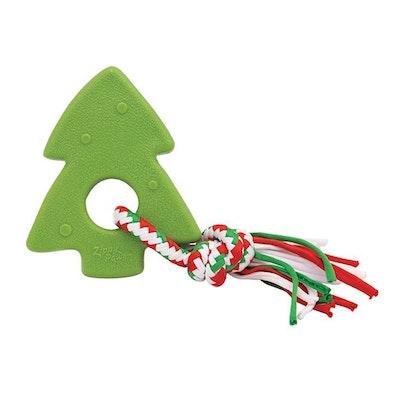 Zippy Paws Holiday Teether Christmas Tree Dog Chew Toy 15 x 12.5cm