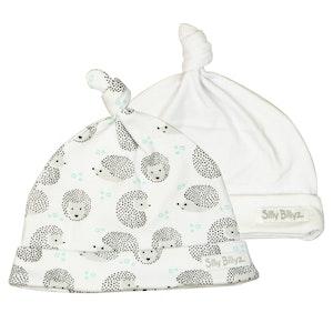 Silly Billyz Two Gumnut Hedgehog Baby Hats