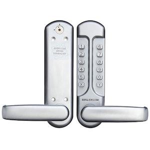 Borg Locks Push Button Mechanical Digital Lock - BL7001SC