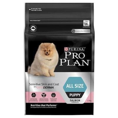 Pro Plan Sensitive Skin & Coat All Size Puppy 2.5kg