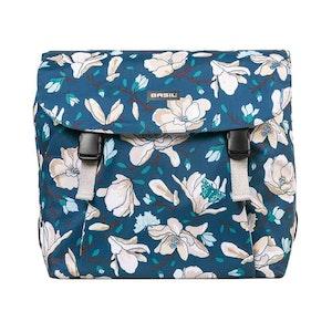 Basil Magnolia Double Bicycle Bag Teal Blue 35L