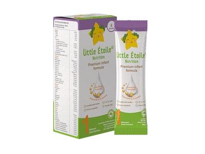 Max Biocare Little Etoile Nutrition - Premium Infant Formula Sachet - Stage 1- 6 x 17g sachets