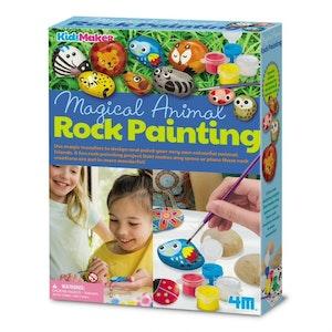 4M - KidzMaker - Paint Your Own Garden Rock