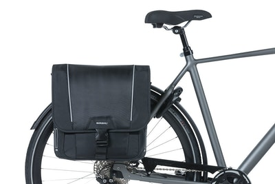 Basil Sport Design Double Bag Black 32L