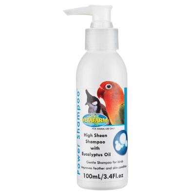 Vetafarm Power Shampoo w/ Eucalyptus Oil for Bird Grooming - 2 Sizes